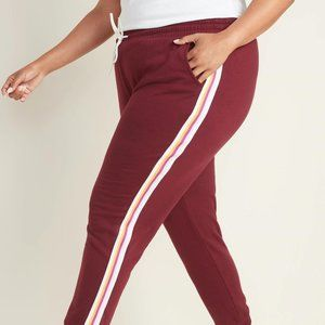 Old Navy Side-Stripe French Terry Plus Sz Joggers